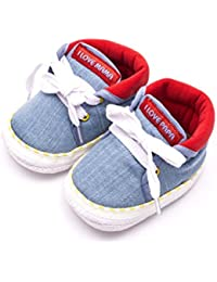 Infano Laces Style Love Print Baby Shoes (6-12 months,1 Pair)