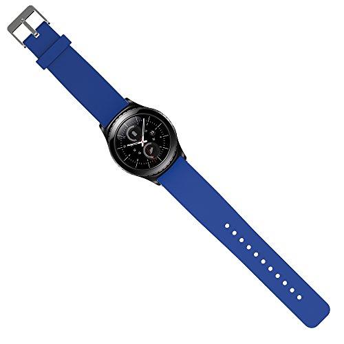 Preisvergleich Produktbild Samsung Gear S2 Classic Armband Uhrband Uhrenarm Band Wrist Strap , in Blau OKCS®