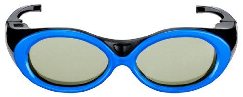 Samsung SSG-2200KR 3D Premium Brille für Kinder (aufladbar, nur für die TV-Modelle der C-Serie geeignet) blau