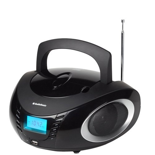 AudioSonic CD 1594 Stereoradio schwarz