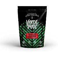 Yerba Verde Mate Green Energía Té 500g | Verde Mate Green Energía | Yerba Mate Té de Brasil | Alta calidad | Yerba Mate fuertemente estimulante | Sin gluten | Sin humo