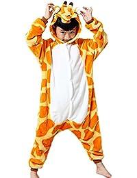 Amurleopard Pyjama Déguisement enfant cosplay Combinaison Unisex