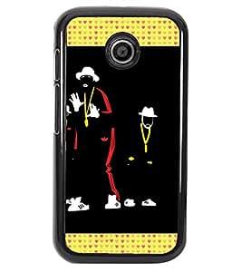 Printvisa 2D Printed Designer back case cover for Motorola Moto E - D4330