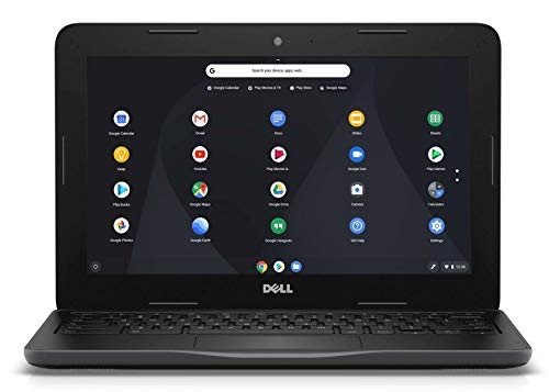 Dell Chromebook 11 3000 11.6 Inch Notebook -(Black) Intel Celeron N3060, 4 GB RAM, 16 GB eMMC, Chrome OS