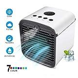 YWJ Climatiseur portatif, Refroidisseur d'air USB, purificateur d'humidificateur, 4...