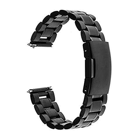 TRUMiRR 22mm Quick Release Watch Band Stainless Steel Strap Bracelet