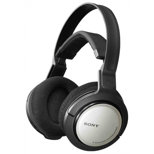 funkkopfhoerer sony Sony MDR RF 840 RK Funk-Kopfhörer schwarz/silber