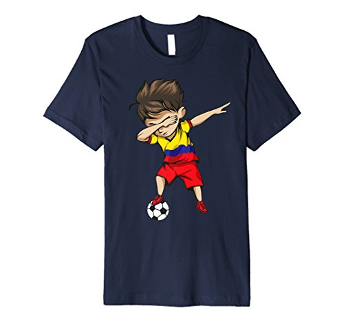 204df0c847205 Dabbing Soccer Boy Colombia Jersey Shirt Colombian Football
