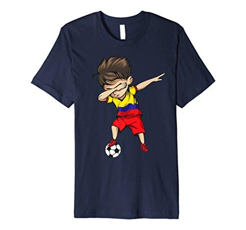 Funny soccer football dabbing boys gift t-shirts al mejor precio de ... f61f8b707