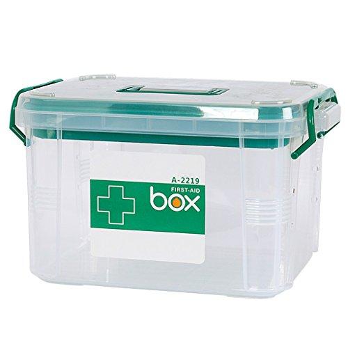 Familienmedizin mehrstöckige Home First Aid Kit Baby Gesundheit Medizinische Boxen Kunststoff Medizin Boxen (Kunststoff-speicher-organisatoren)