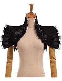 GRACEART Victoriano Volante Fruncido Cuello Bolero Collar