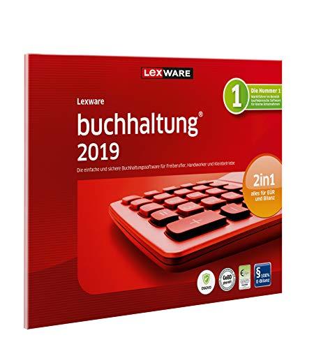 Lexware buchhaltung 2019 basis-Version in frustfreier Verpackung (Jahreslizenz) Einfache Buchhaltungs-Software für Freiberufler, Handwerker und Vereine Kompatibel mit Windows 7 oder aktueller