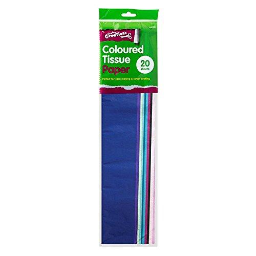 Stalwart U-80683 Coloured Tissue Paper, 20 Sheets