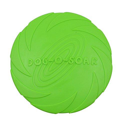 Boodtag Hundespielzeug Frisbee Weiches Gummi Haustier T… | 06163630852617