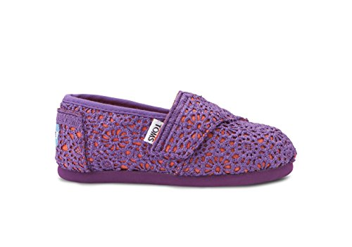 ni, Jungen Espadrilles Purple Orange Crochet ()