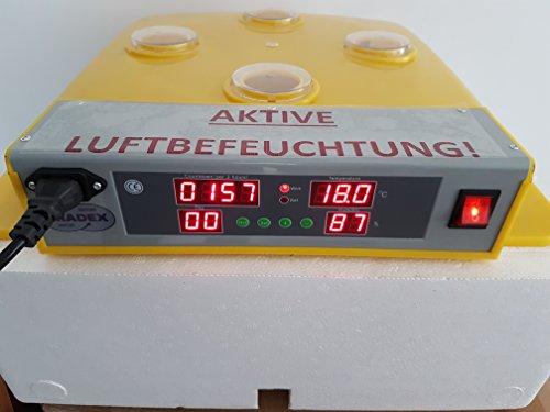 Brutmaschine, vollautomatisch, NEU: AKTIVE LUFTBEFEUCHTUNG