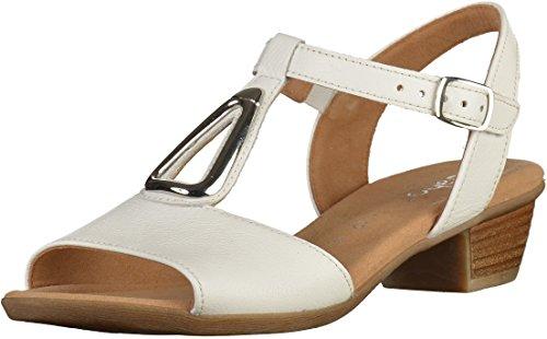 Gabor  62473-50, Sandales pour femme Blanc
