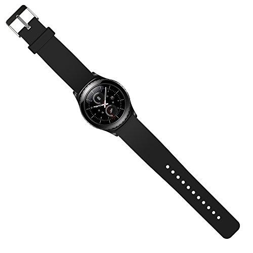 Preisvergleich Produktbild Samsung Gear S2 Classic Armband Uhrband Uhrenarm Band Wrist Strap , in Schwarz OKCS®