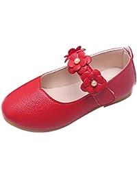 WIN y Niños Gancho Zapatos Correa Pisos Jane Princesa Ballet Flor niñas Mary WE Lazo SvdqHS