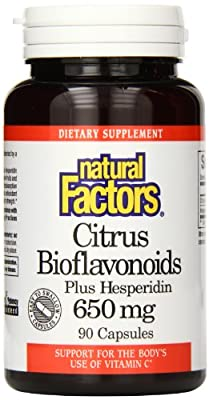 Natural Factors Citrus Bioflavonoids plus Hesperidin, 650mg, 90 Capsules from Natural Factors