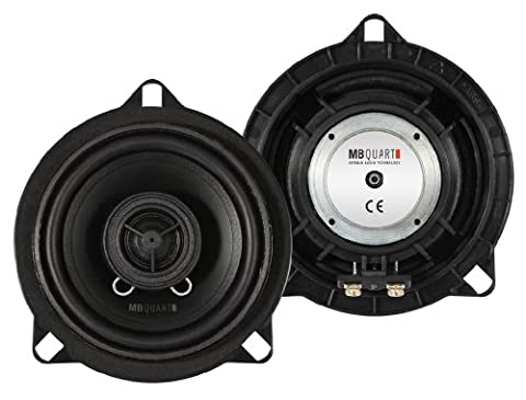 MB Quart QM100 BMW Custom Fit 10cm 2-Way Coaxial Car Speakers for BMW 1, 3 5 Series, X1