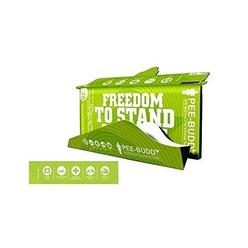 HealthAndYoga(TM) Aufsteller Pee Gerät für Damen Intim Hygiene für Damen Einweg- Pissen hilfe für Unfreundlich Toiletten- 10er Set