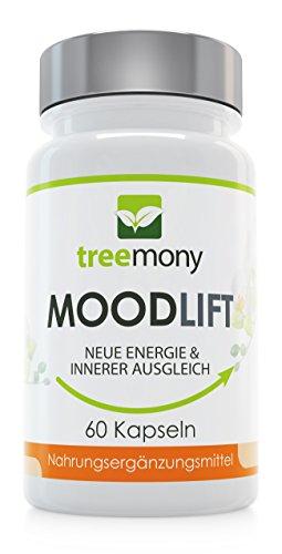 MoodLift | Pflanzlicher Stimmungsstabilisierer | Stimmungsaufheller | Für mehr Antrieb und inneren...