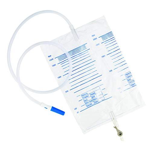 Universal Urinbeutel 2 Liter mit Hebelhahn (x5) -