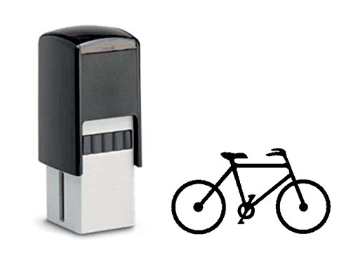 BONUSKARTENSTEMPEL « FAHRRAD » Stempel mit Motiv 10x10 mm - Bonuskarte Verkauf Bonus Fahradfahrer Radler Fahrradladen (Fahrräder Für Den Verkauf)