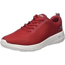 Herren Go Walk Max-Effort Sneaker, Rot (Red Red), 43 EU Skechers