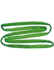 Elingue cravate 3 m/ vert/ 2 000 kg/ 4 000 kg