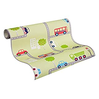 A.S. Creation 93632-2 Boys & Girls 4 Transport Wallpaper