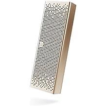 Original Xiaomi Altavoz estéreo Bluetooth 4.0 Manos libres altavoz portátil inalámbrico Speaker Wireless Apoyo de SD Tarjeta AUX Compatible con la mayoría de teléfonos Oro