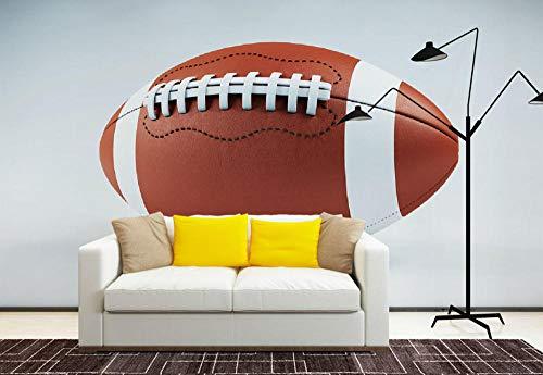 Wandbild Hintergrundbild Wandaufkleber Jungenzimmer Tapeten Wandbild Rugby Fototapeten Aufkleber Kinderzimmer 3D Tapete @ 400 * 280Cm - 400 Rugby