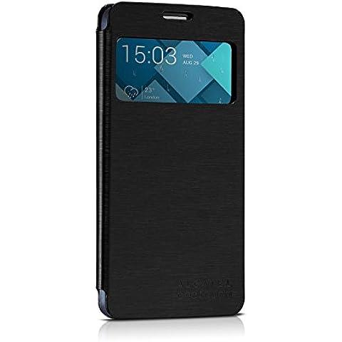 Alcatel One Touch Flipcover FC6040 (black) - apropiado para 6040, 6040D, Idol X