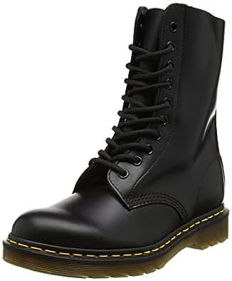 Dr. Martens 1490Z Smooth Black 11857001, Unisex-Erwachsene Stiefel, Schwarz (Black), EU 36 (UK 3)