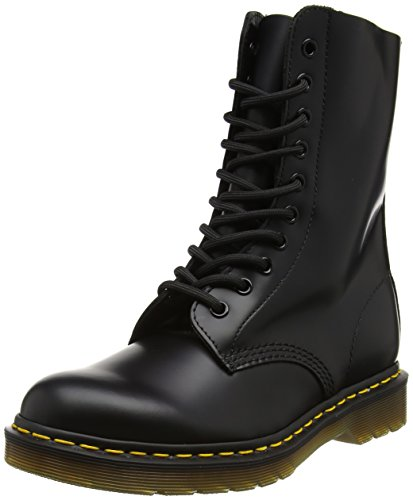 Dr. Marten's 1490 Original, Unisex-Adult Boots, Black (Black Smooth), 7 UK (41...