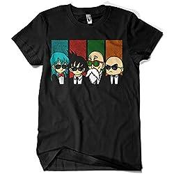 Camisetas La Colmena - 2239-Reservoir Kame -Dragon Ball - Reservoir Dogs (Melonseta) L