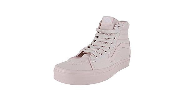 Vans Men s U Sk8 Hi Mono Canvas Shoes Peach Blush 9.5 M US Women   8 M US  Men  Buy Online at Low Prices in India - Amazon.in 361400b8f3ca