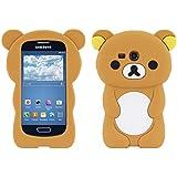 kwmobile FUNDA DE SILICONA Diseño osito para Samsung Galaxy S3 Mini - Un diseño elegante y una protección óptima
