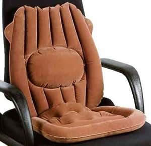 Coussin assisse gonflable en voiture ou au bureau