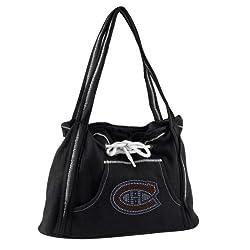 NHL Montreal Canadiens Sport Noir Hoodie Purse, Black