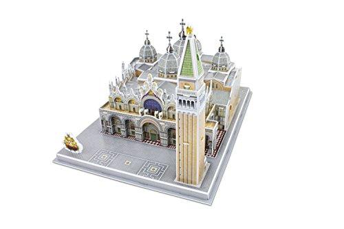 Giochi Preziosi - Expo 2015 - Monumento Puzzle 3D da Assemblare: Basilica di San Marco, 107 Pezzi