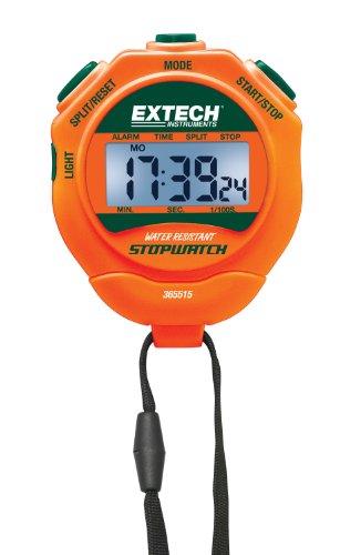 Extech Stoppuhr/Wecker mit Hintergrundbeleuchtung, 1 Stück, 365515 (Wecker Coach)