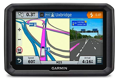 Garmin dezl 570LMT-D LKW Navigationsgerät, lebenslange Kartenupdates, DAB+, LKW-spezifisches Routing, 5 Zoll (12,7 cm) Touch-Glasdisplay (Generalüberholt)