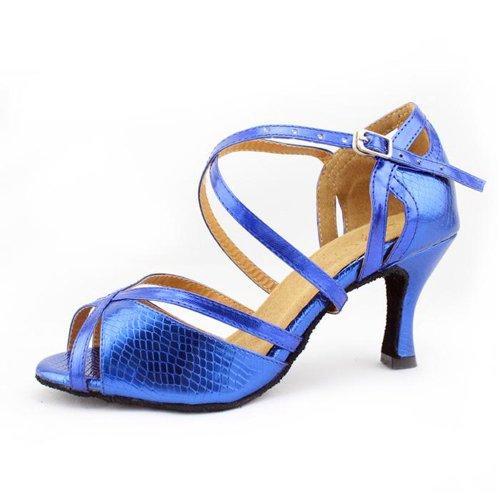 Minitoo ,  Damen Tanzschuhe Blau