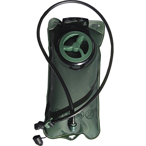 Hiking Camping Climbing Outdoor Event 2L Water Hydration Bladder Green