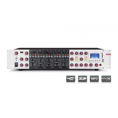 MESA DE MEZCLAS RACK FONESTAR SM-1860U USB/SD/MP3