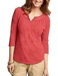 Shirt Henleyshirt 3/4 Arm Damen von Eddie Bauer