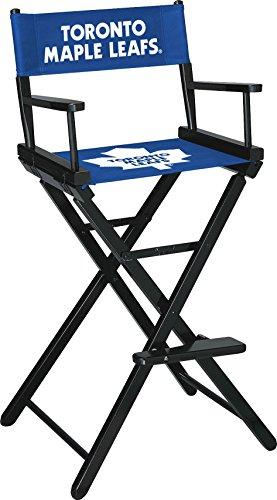 Imperial Offizielles Lizenzprodukt NHL Merchandise: Regiestuhl (hoch, Bar Höhe), Boston Bruins, Unisex, weiß -